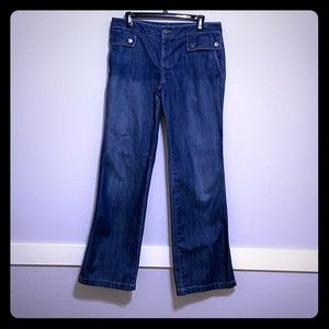 Banana Republic Flare Jeans Size 8